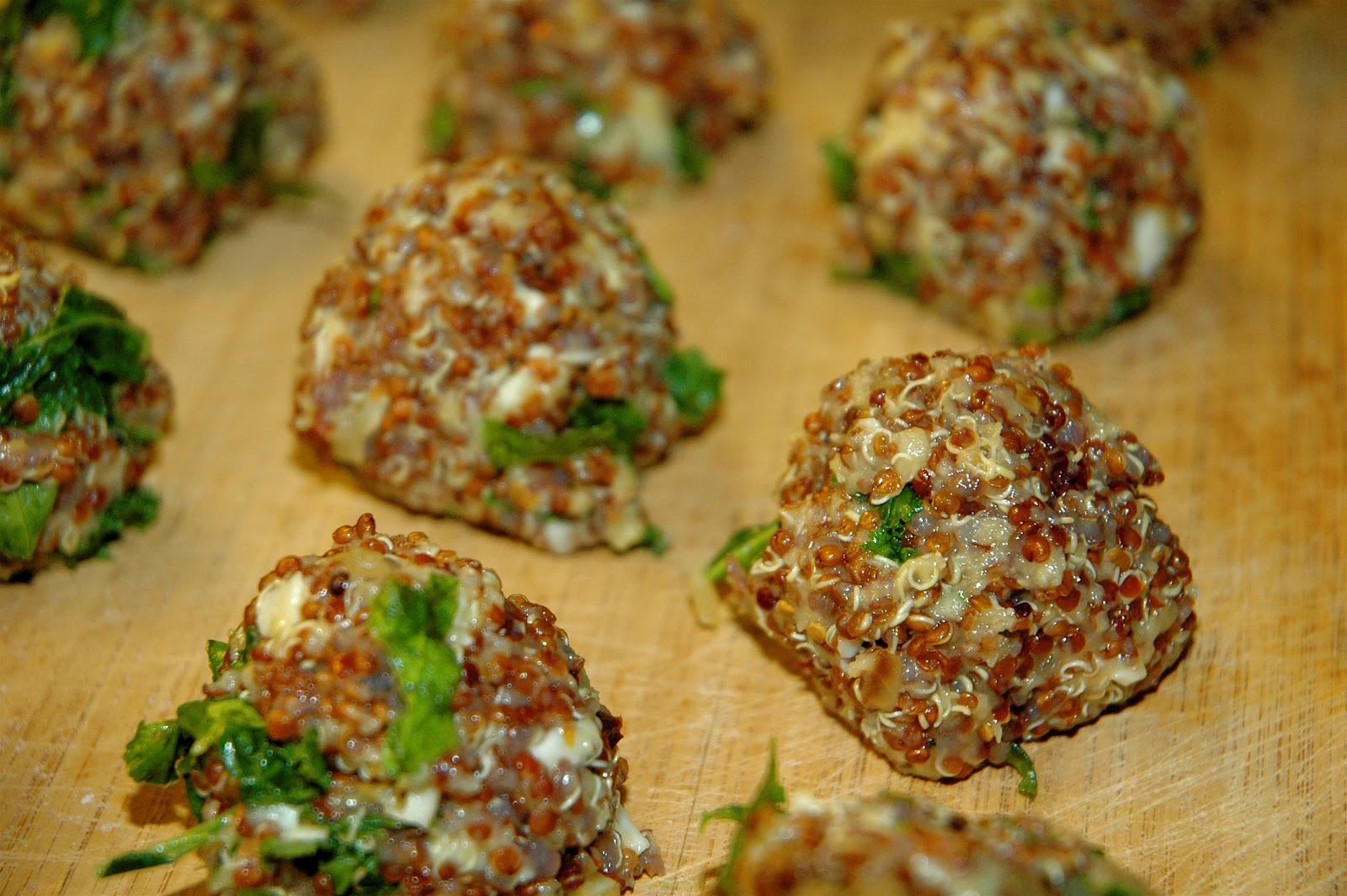 Four and Twenty Blackberries: Quinoa and Kale Cakes