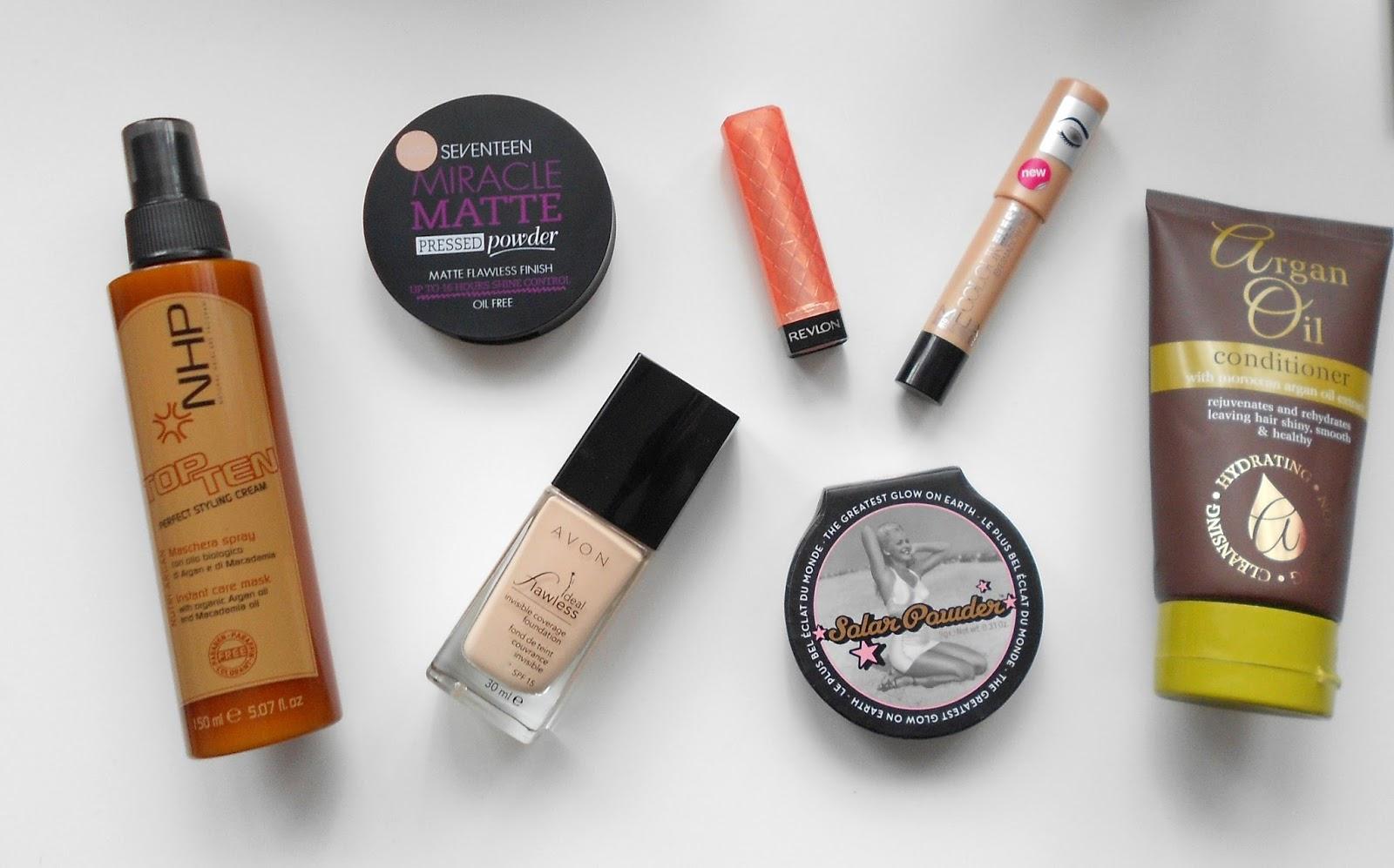 april beauty favourites makeup hair