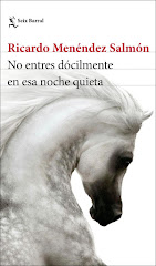 'No entres dócilmente en esa noche quieta', la nueva novela de Ricardo Menéndez Salmón
