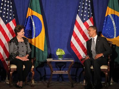 Brasil: DILMA VIAJA AOS ESTADOS UNIDOS PARA ENCONTRO COM OBAMA