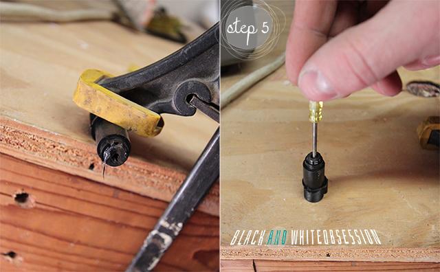 Silhouette Pen Holder Blade Hack Tutorial | Step 5- Remove Plastic | www.blackandwhiteobsession.com