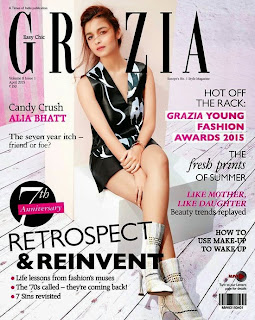 Alia Bhatt looks so cute and Gorgeous Spicy in Grazia India April 2015