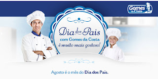 Promoção Dia dos Pais com Gomes da Costa