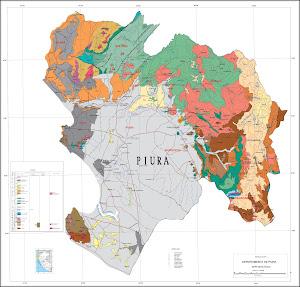 Mapa Geológico de Piura