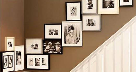 How To Hang Multiple Pictures On Wall what's new at frameframe: hang pictures in a stairway