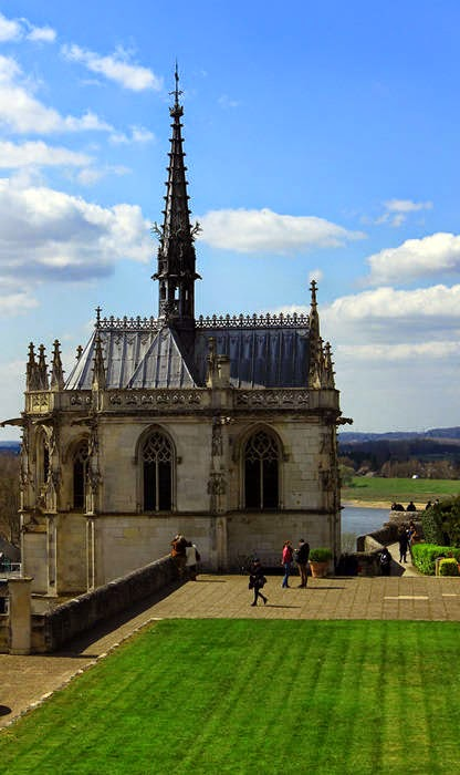 Châteaux de la Loire Amboise Chapelle Saint-Hubert