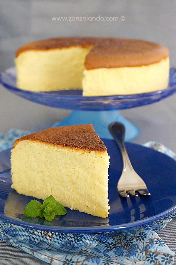 Japanese soufflé cheesecake ricetta passo per passo recipe