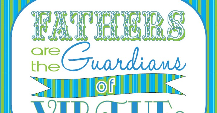 LDS Printables: Early Father's Day Freebies