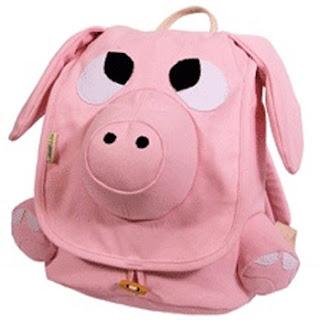 tas berbentuk babi