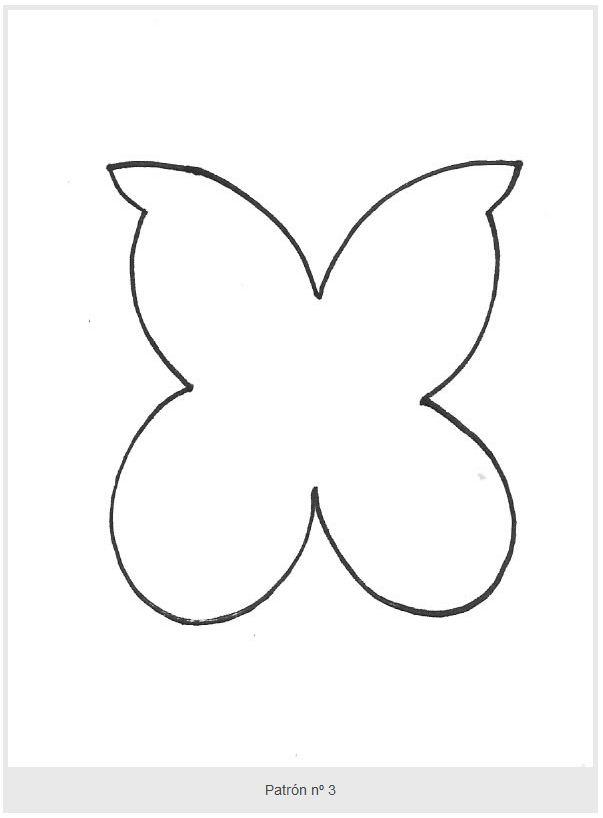 Бабочка из фетра выкройки своими руками 1