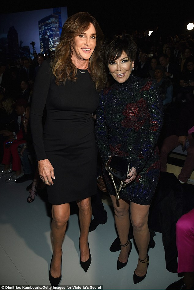 Caitlyn Jenner and Kris Jenner supported Kendall at the VS Fashion Show 2015