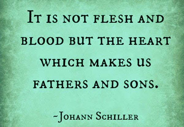 Father's Day Quote from a Son