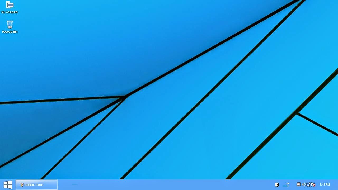 Free Windows 10 Theme for Windows XP