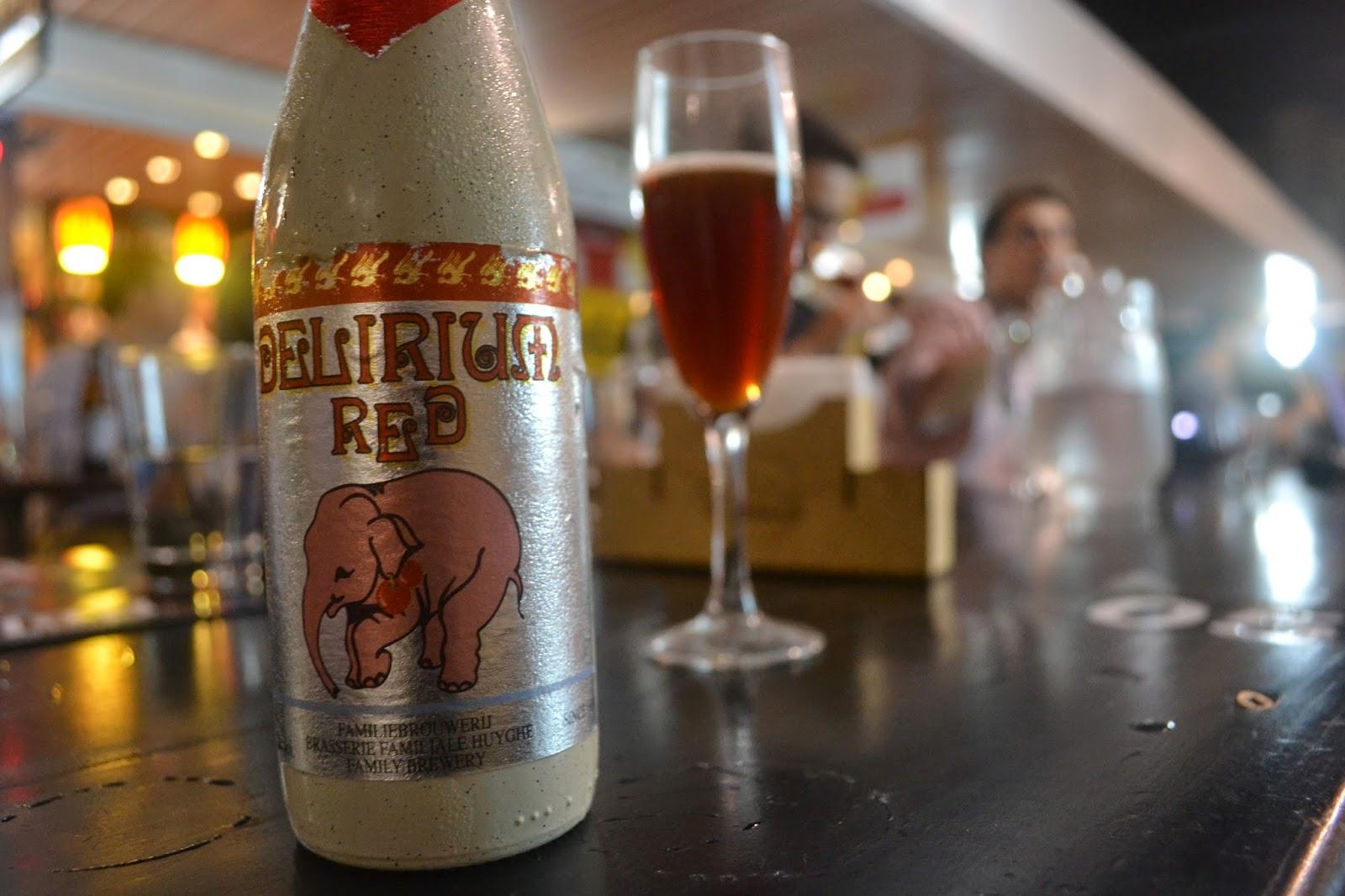Cerveja delirium red joão filho sommelier