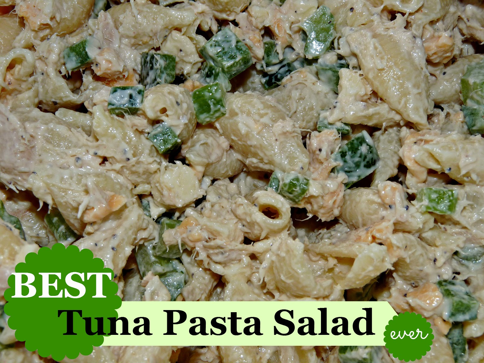 Cold tuna pasta salad for Tuna fish pasta