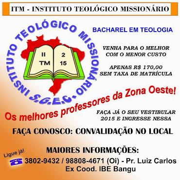 ITM - INSTITUTO TEOLÓGICO MISSIONÁRIO
