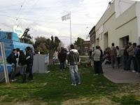 La Cámpora Olavarría colaboró con la oficina móvil del ReNaPer