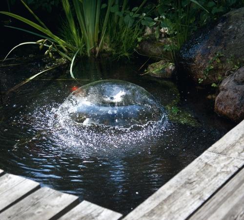Jard n solar oxigenadores solares de agua - Fuentes solares para jardin ...