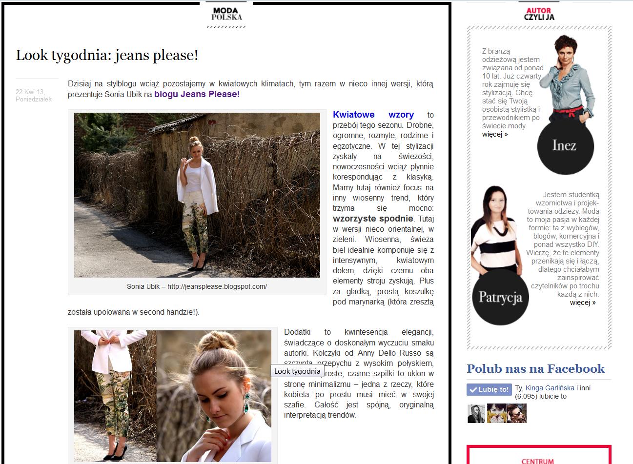 http://stylblog.pl/3408/look-tygodnia-jeans-please/