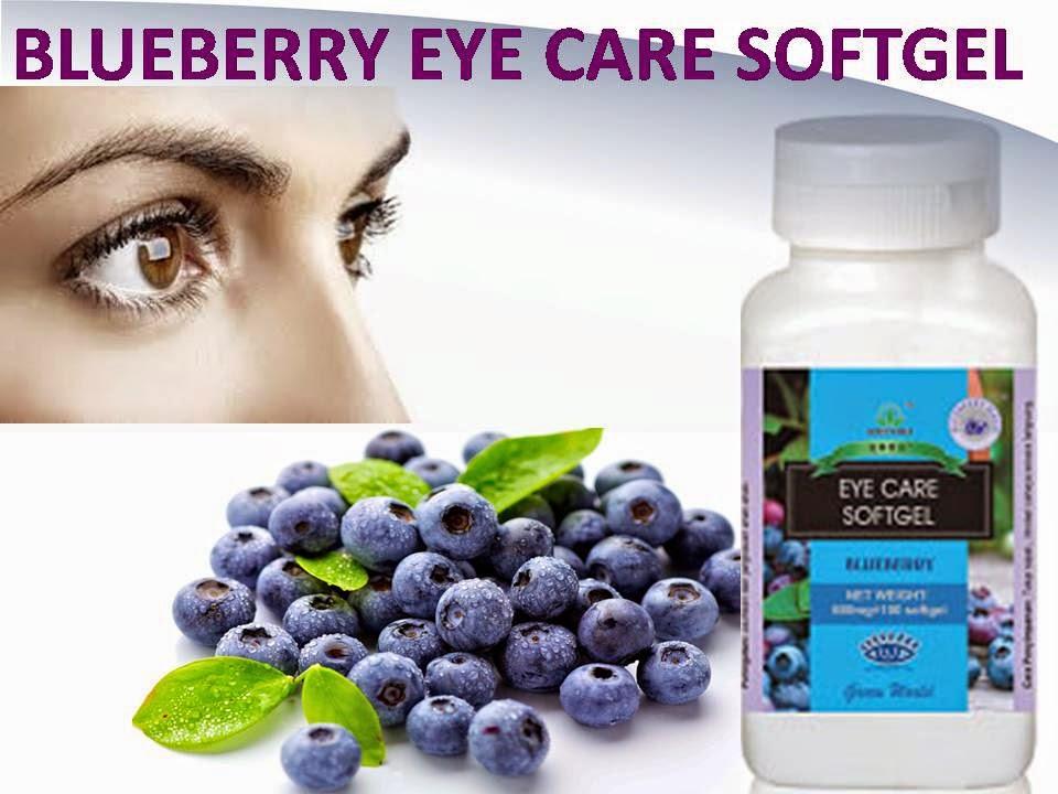 Eye Care Softgel Suplemen Herbal untuk Menyembuhkan Mata Silinder