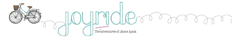 joyride | jaime ayala blog