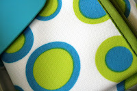 Koo-di baby wipe box in Retro Circles click here to buy on www.tumstotots.com