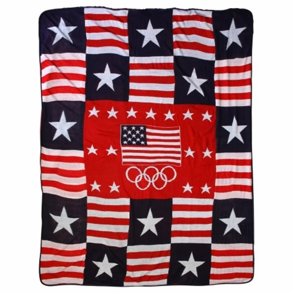 Team USA Fleece Blanket