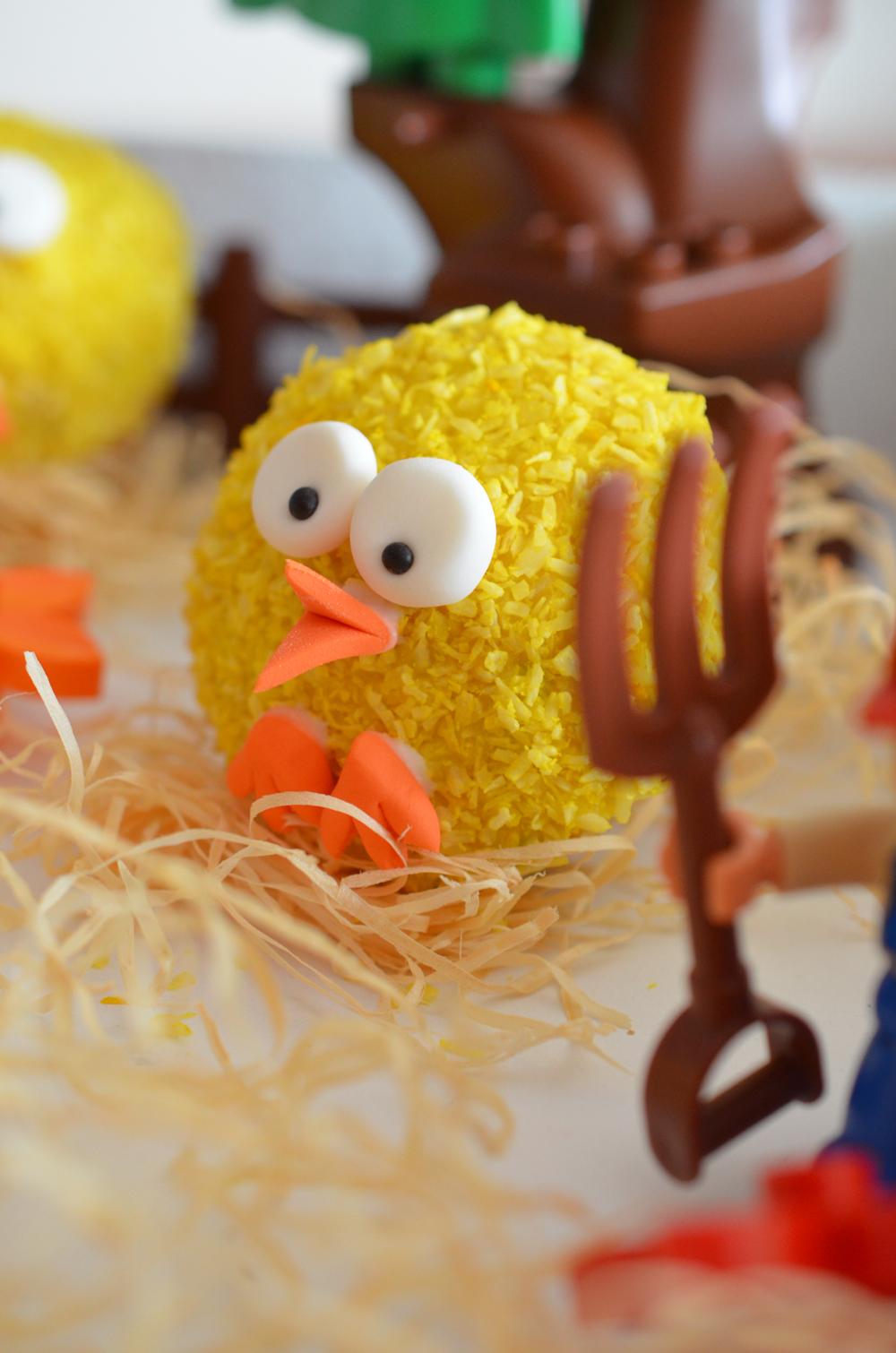 Küken-Cupcakes