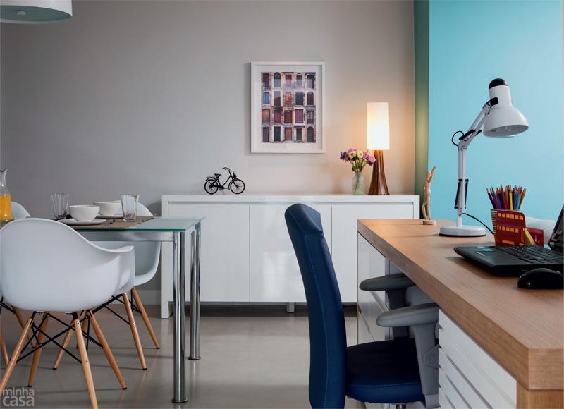 Espa os pequenos apartamento de 65m2 casa com moda for Decorar casa 45 m2