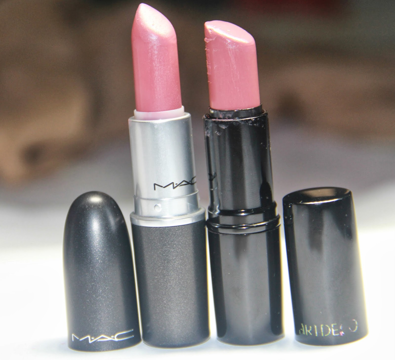 the pretty lil things blog dupe mac twig lipstick