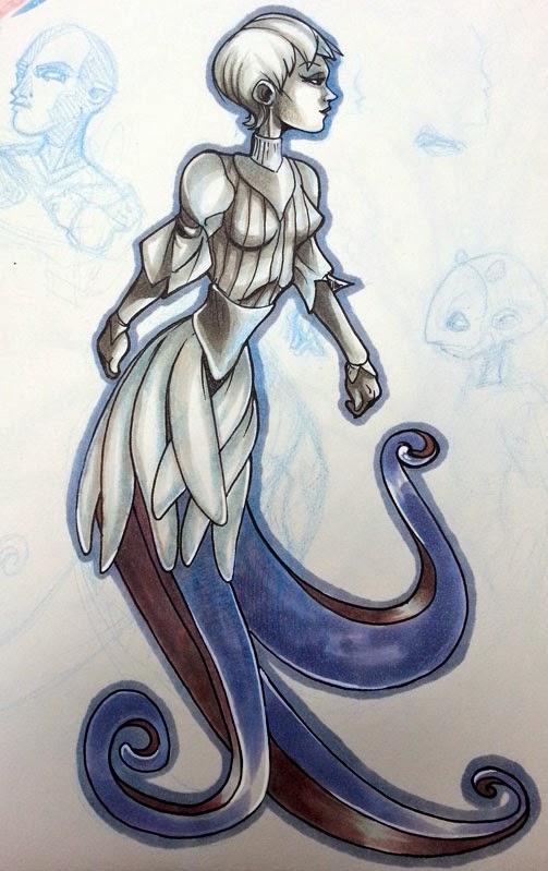 tentacules girl