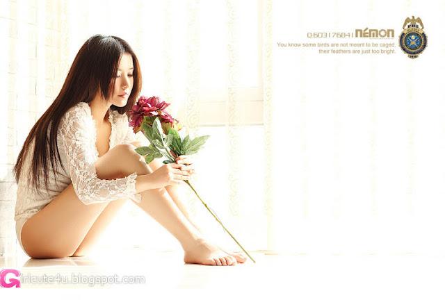 3 Qiu Xiao Chan - Morning ni Chaney-very cute asian girl-girlcute4u.blogspot.com