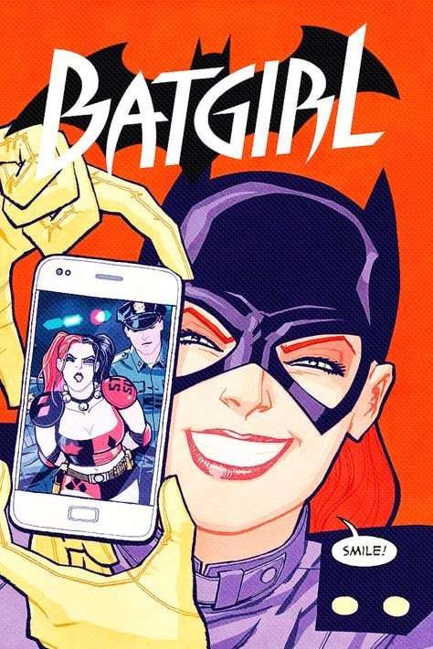 Batgirl variant cover. Not THAT one, though.