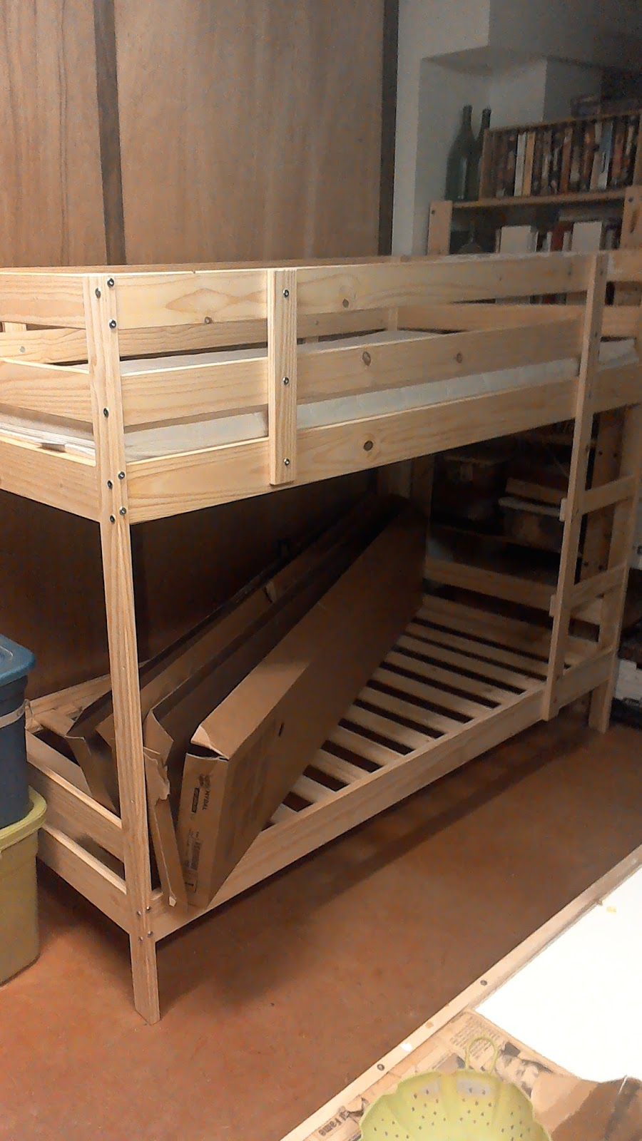 the tool store blog bunk bed for the grand kids. Black Bedroom Furniture Sets. Home Design Ideas