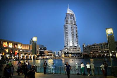 Hotel Pencakar Langit Bintang 5 Di Dubai Sebelum Terbakar