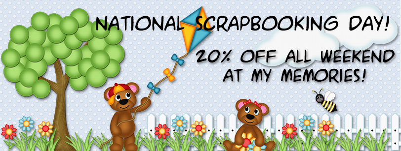 20% off digital scrapbook kits