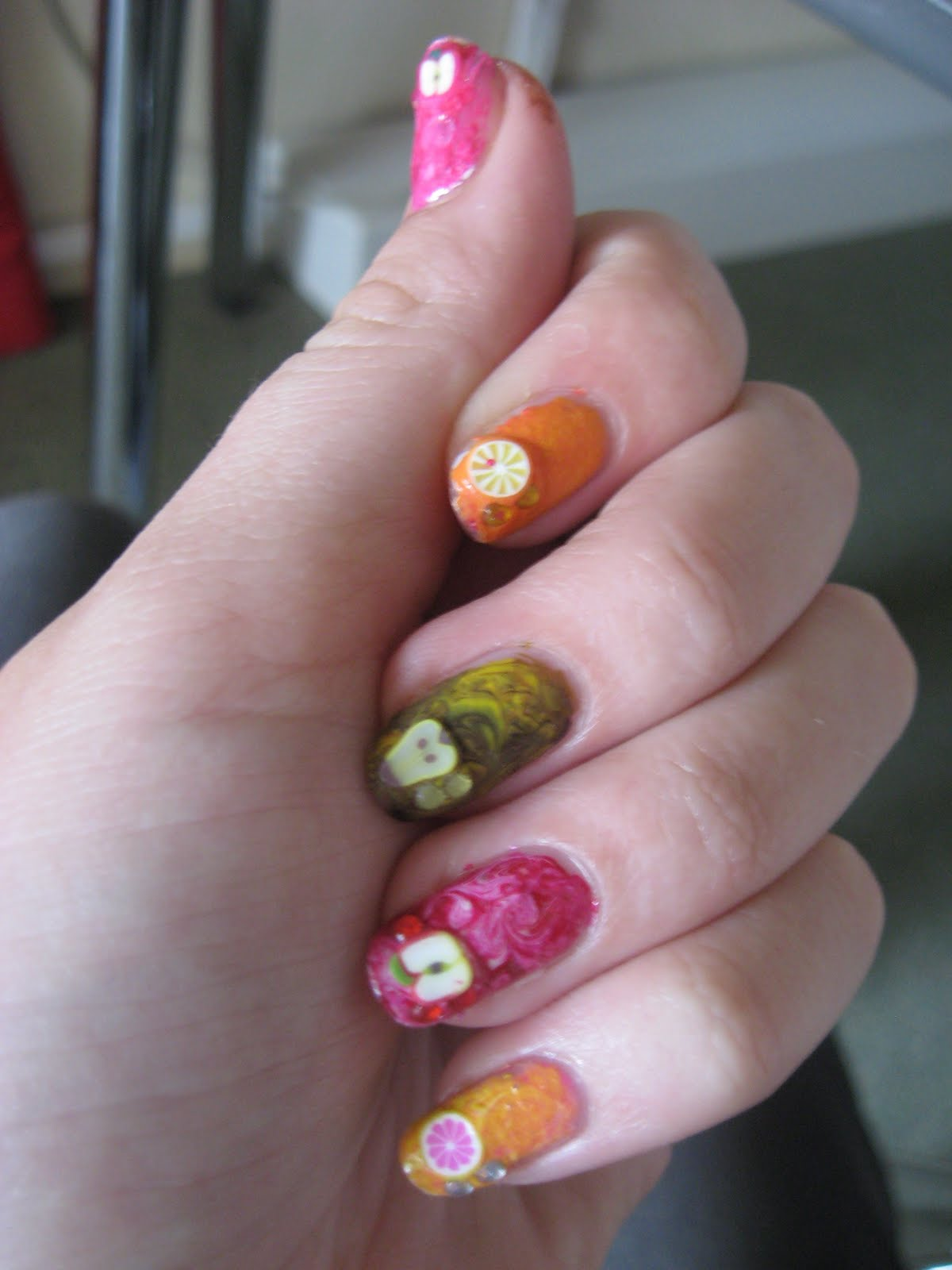 Fruitige Nail Art Because Life Is Reality