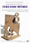 Muestra de esculturas de Fernando Méndez