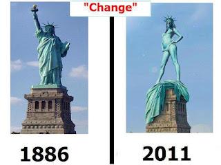 Nekad i sad, historija, simbol amerike