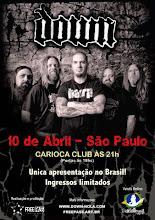 Down Brazil tour 2013