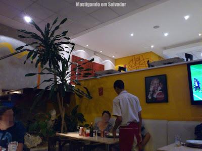 Pasta Fast: Ambiente da loja da Pituba