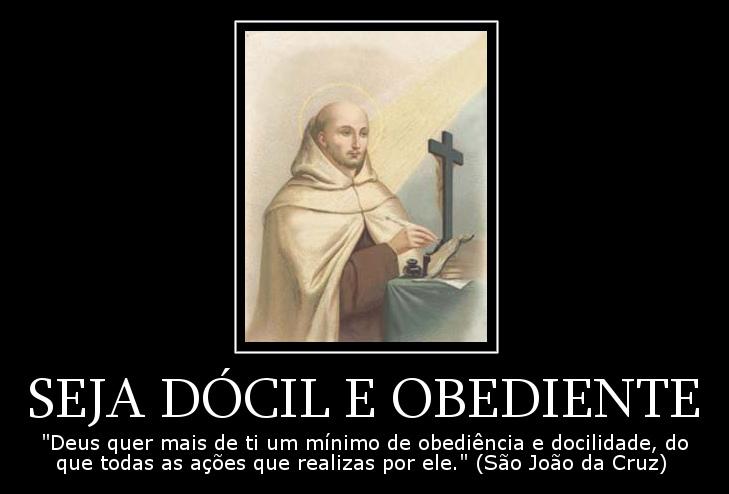 Seja Dócil E Obediente Frases Dos Santos