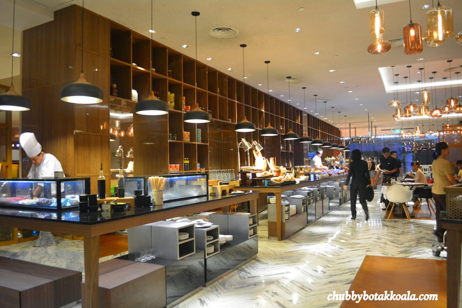 Chubby botak koala singapore food blog travel and - Element bar cuisine ...