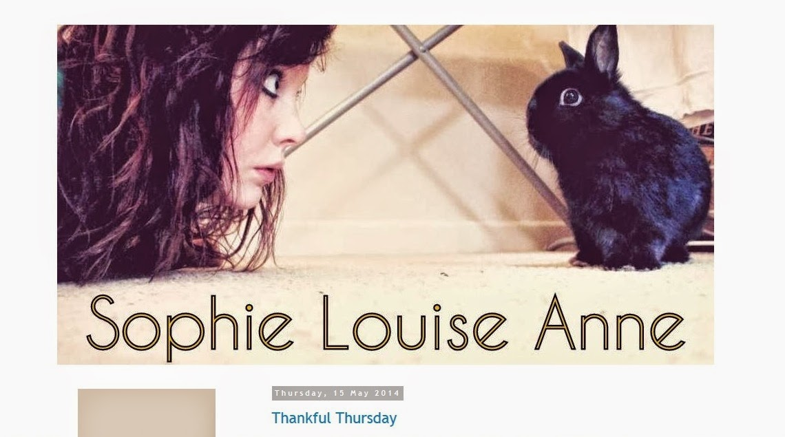 Sophie Louise Anne Blog