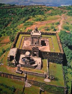Samadhi of the Great Shivaji Raje