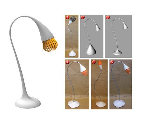 Emotion the Sensitive Lamp Concept