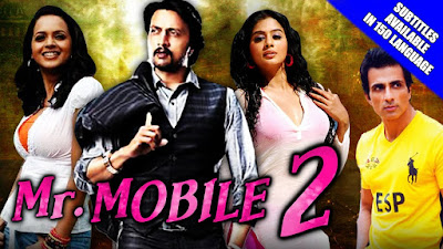Poster Of Mr. Mobile 2 In Hindi Dubbed 300MB Compressed Small Size Pc Movie Free Download Only At exp3rto.com