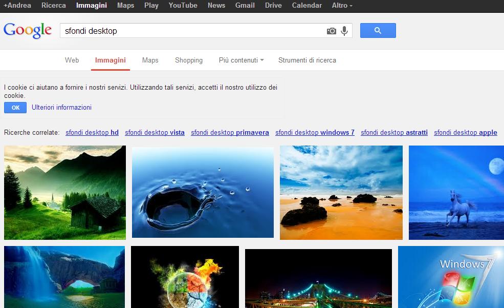 Come scaricare immagini gratis senza copyright da google for Ricerca per immagini google