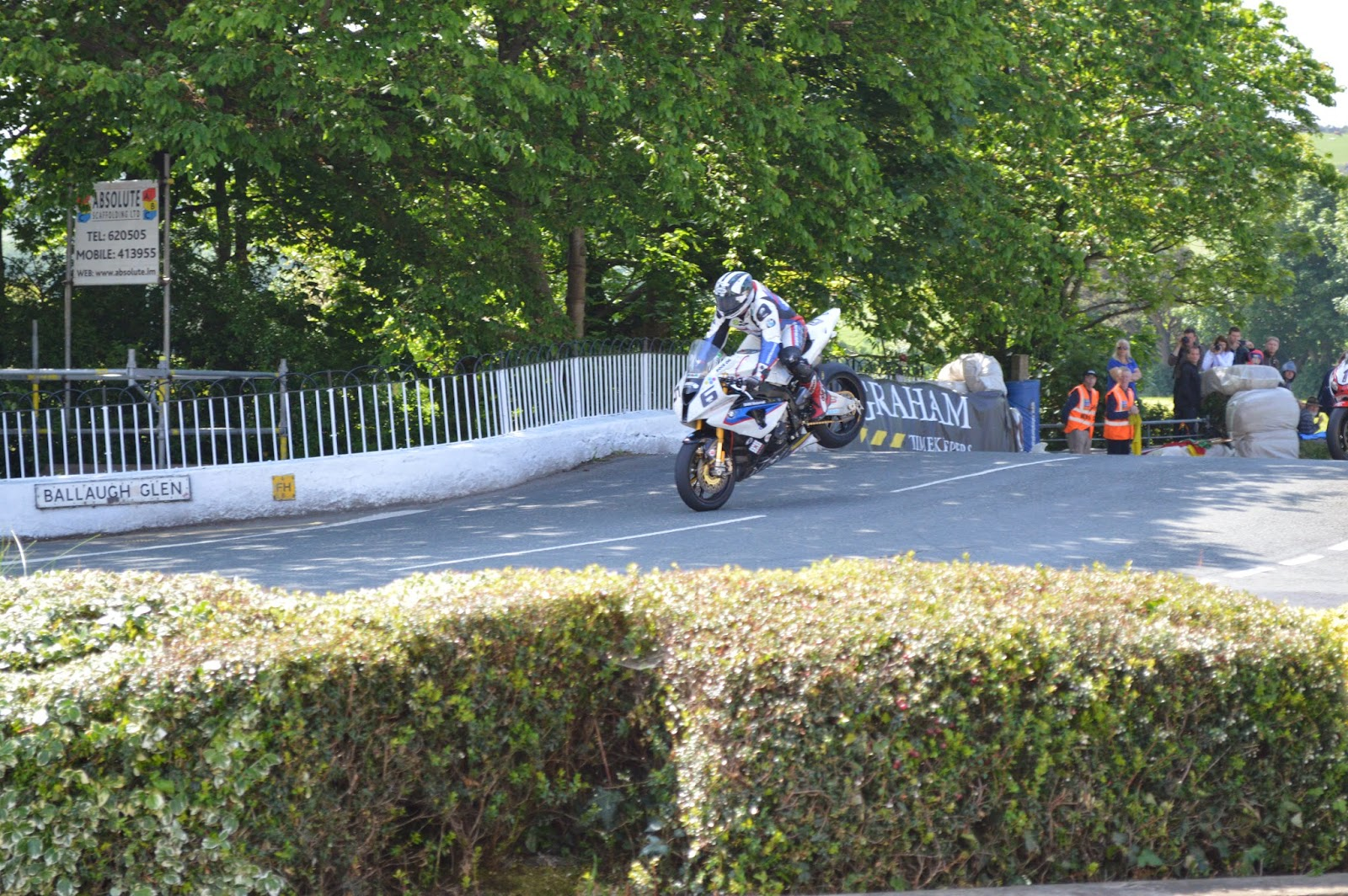 William Dunlop en Ballaugh Bridge