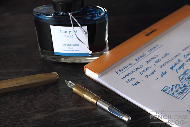 Kaweco Brass Sport fountain pen review